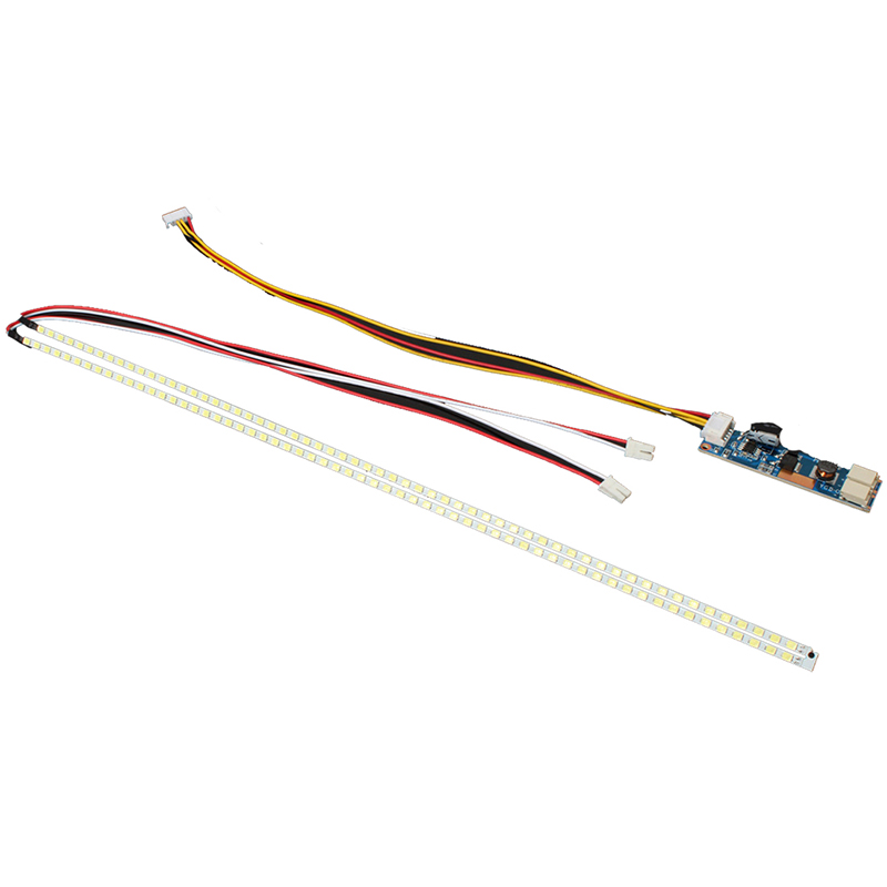 355mm LED Backlight Strip Kit For Update CCFL LCD Screen To Monitor Adjustable Brightness LED Strip Driver Board