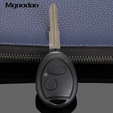 Mgoodoo 2 Button Remote Car Key Shell Fob For Land Rover Discovery 1999-2004 Uncut Blade Auto Replacement Keyless Case Cover 2 buttons uncut blade keyless entry remote key shell case for rover land rover freelander zs zr 200 400 25 45 refit key shell