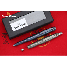 Bear claw Custom Limited Edition Screwdriver Titanium Disassembly Multifunctional Survival Green thorn F95 Tactical Pen EDC Tool