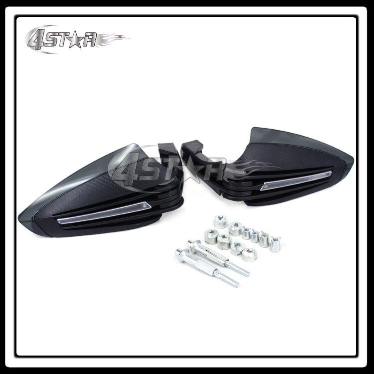 ФОТО Motorcycle Dual Road Handguard Hand Guards With LED Lights For Dorsoduro 750 Mana GT85 Sportcity 125/200/250 Tuono 1000