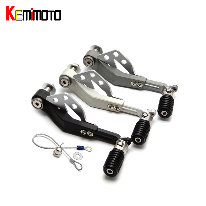 KEMiMOTO R1200GS LC Adventure Motorcycle Shift Lever Flightline Folding Gear Transmission For BMW R 1200 GS 2013 2014 2015 2016 kemimoto r1200gs tank pad for bmw r 1200 gs lc adv 2014 2015 2016 2017