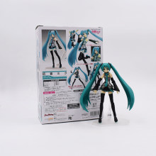 Anime Figma Hatsune Miku Figura 15 cm 014 PVC Action Figure Model Collection Toy Boneca Presentes de Natal Com Caixa(China)
