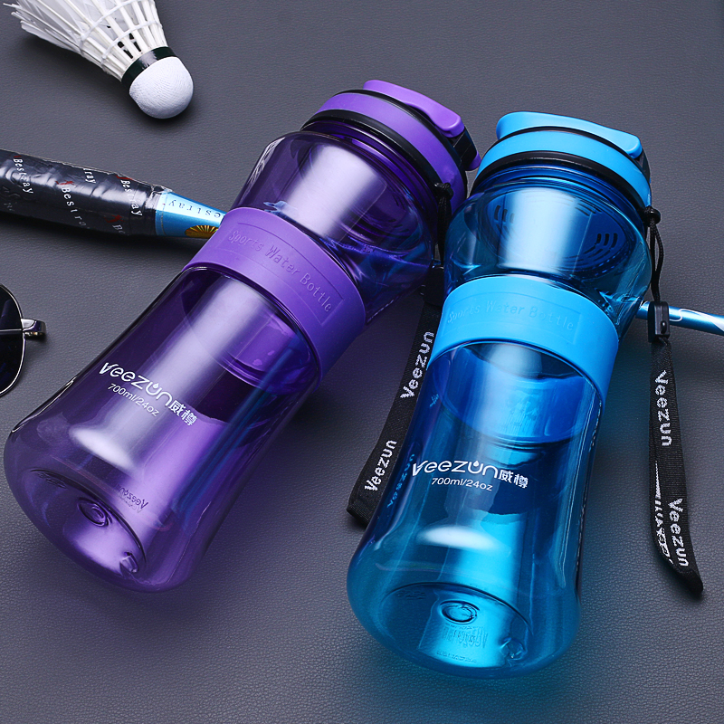 700ML BPA free Plastic Sports Water Bottle Drink Bottle My Water Bottles Drinkware Portable Sport Bike Cycling Durable Bottle-in Water Bottles from Home & Garden on AliExpress
