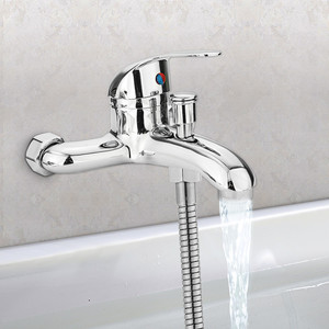 Zinc alloy Basin Faucets Chrom