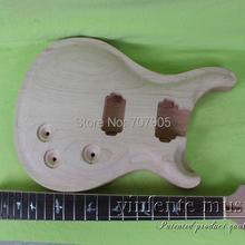 """1 компл. 2"""" незавершенная Электрогитара шеи и гитары корпус из красного дерева и розового дерева гриф"""