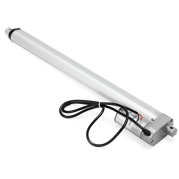 1X DC 12V 75KG 165lbs 400mm Multi-function Linear Actuator Motor Stroke Heavy Duty reliable performance  Linear Guides 400mm multi function linear actuator motor stroke heavy duty dc 12v 75kg 165lbs reliable performance