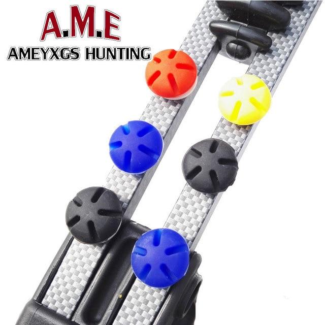 4 цвета стрельба из лука лук стабилизатор уменьшить Шум конечностей вибрации для Compund изогнутый лук съемки Кемпинг