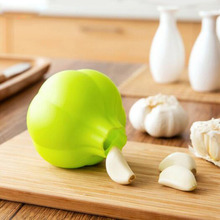 Creative Rubber Garlic Peeler Garlic Presses Ultra Soft Peeled Garlic Stripping Tool Home Kitchen Accessories