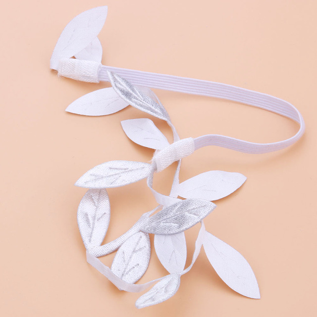 Angel Photo Pro Feather Wings Baby Leaves Headband Hair Head Bands Photo Accessories Golden and Silver Angel Wings with Halo