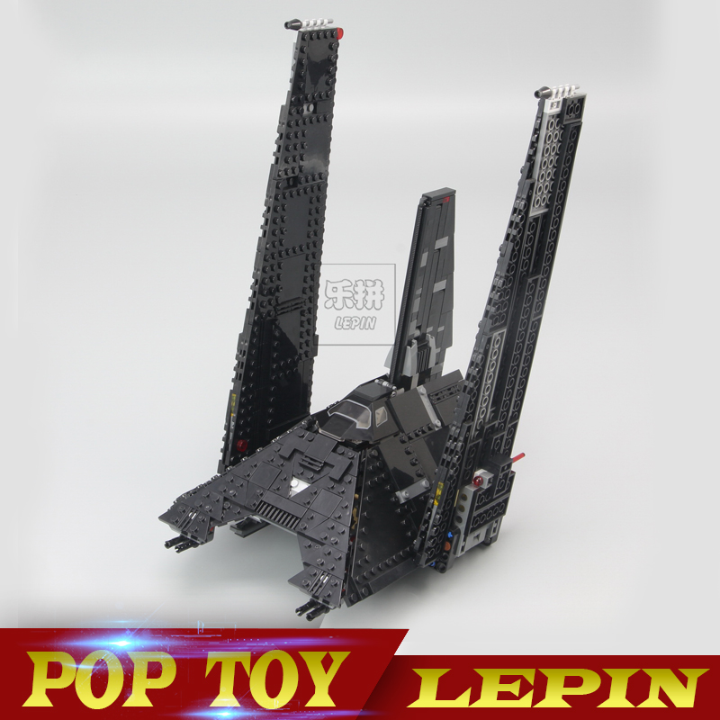 New 05049 Star series The Krennics Imperial Shuttle Model Building Blocks set Compatible 75156 classic Toys for children new lp2k series contactor lp2k06015 lp2k06015md lp2 k06015md 220v dc