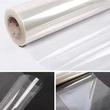 50x200 см прозрачная глянцевая пленка для защиты от царапин 2Mil Защитная Наклейка для мебели анти-масляные украшения для дома и кухни