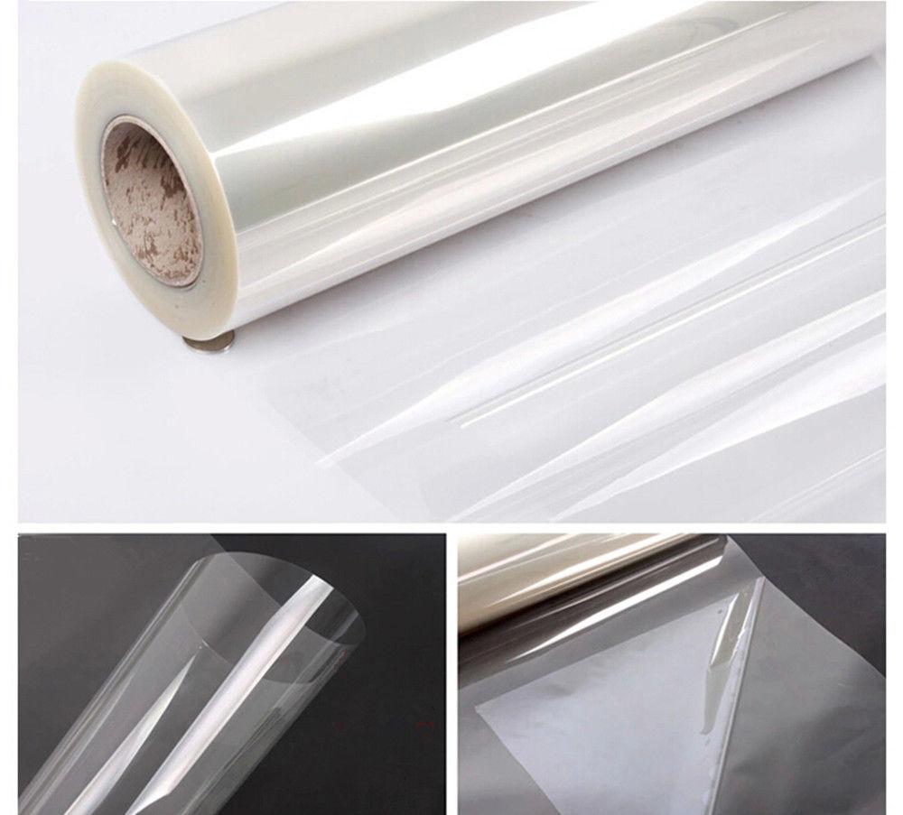 Прозрачная глянцевая пленка для защиты от царапин, 50x200 см, 2 мил, Защитная Наклейка для мебели, противомасляное украшение для дома и кухни