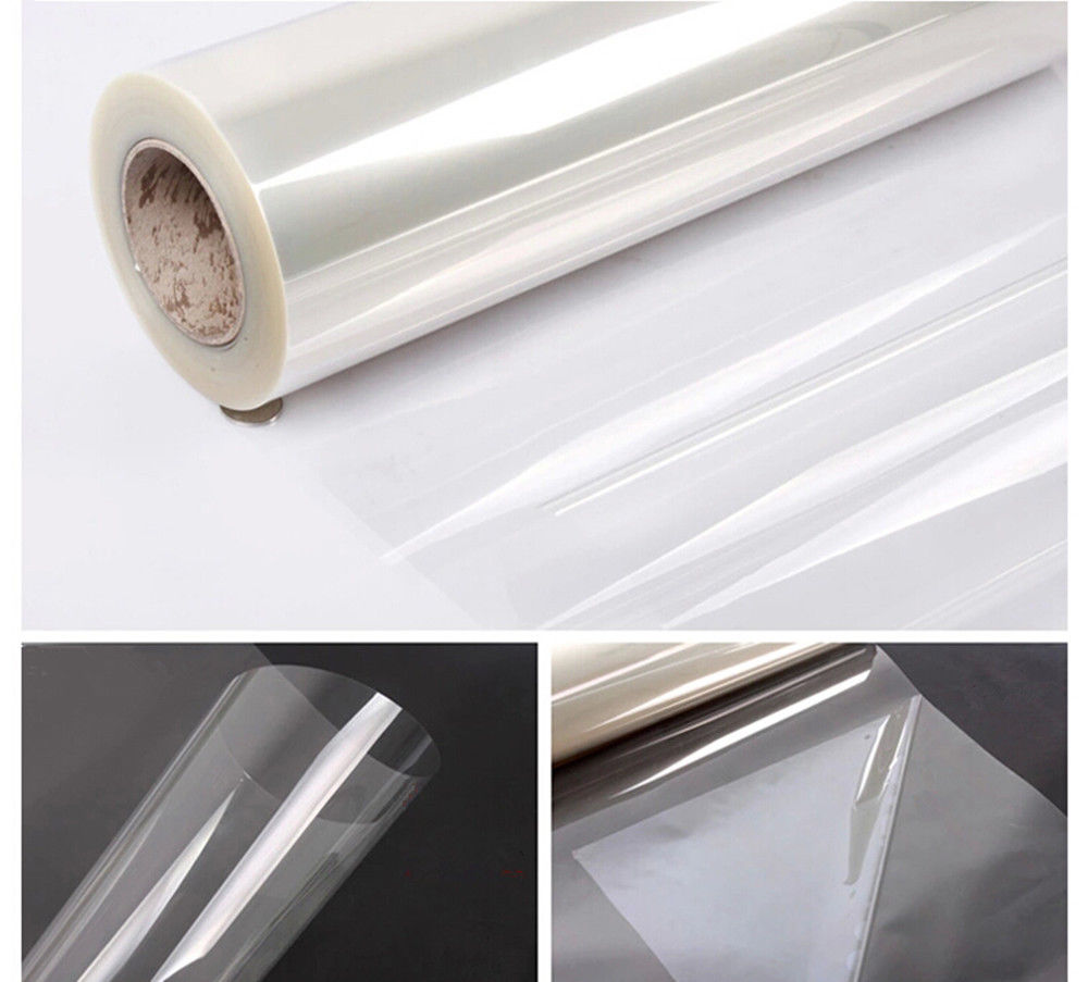 50x200cm Transparent Glossy Scratch Protection Film 2Mil Furniture Protective Sticker Anti Oil Home Kitchen Decoration