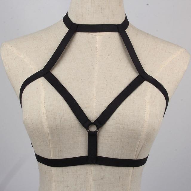 e46a4d35f88 Sexy Leg Girdle Belt Women Elastic Cage Body Hollow Leg Garter Belt  Suspender Belt Strap Underwear Leg Waist Strap Garter