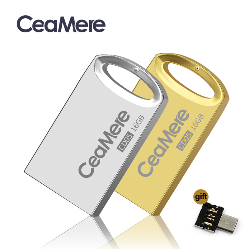 Ceamere CD05 USB דיסק און קי 4 gb/8 gb/16 gb/32 gb/64 gb עט כונן pendrive USB 2.0 דיסק און קי זיכרון מקל USB דיסק 1 gb