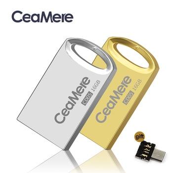 Ceamere CD05 USB Flash Drive 4GB/8GB/16GB/32GB/64GB Pen Drive Pendrive USB 2.0 Flash Drive Memory stick  USB disk 1GB