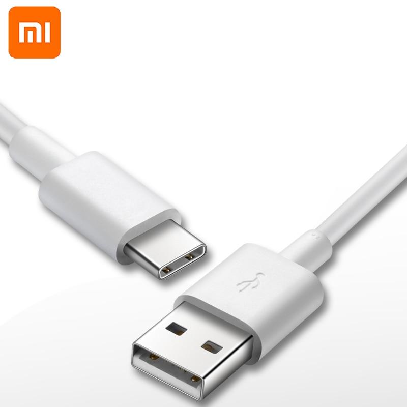 Câble de chargement rapide des données d'origine Xiao mi USB 3.0 2A Type C pour XIAO mi mi 9 6 4C 4 S A1 5 5 S Plus 5C 5X mi x MAX 2 rouge mi Pro