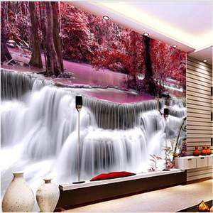 Beibehang Background Wallpaper Murals Flowers of Custom Large-Scale Health-Choi Wonderful