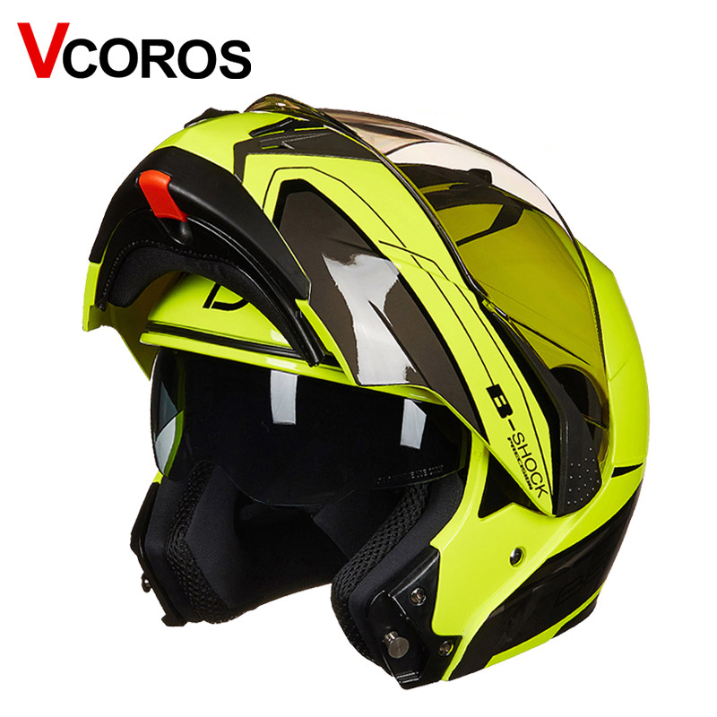 New B700 modular motorcycle Helmet safty women man full face racing flip up motorbike helmets dual shield sunny lens moto helmet цена 2017