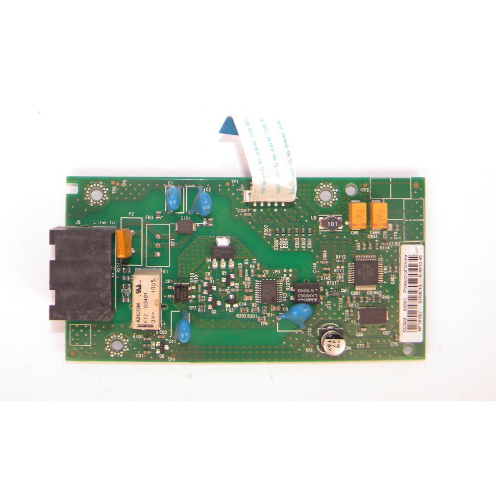 USED for HP Network Card: Fax Module : Fax module assembly CC502-60001 CC369-80001