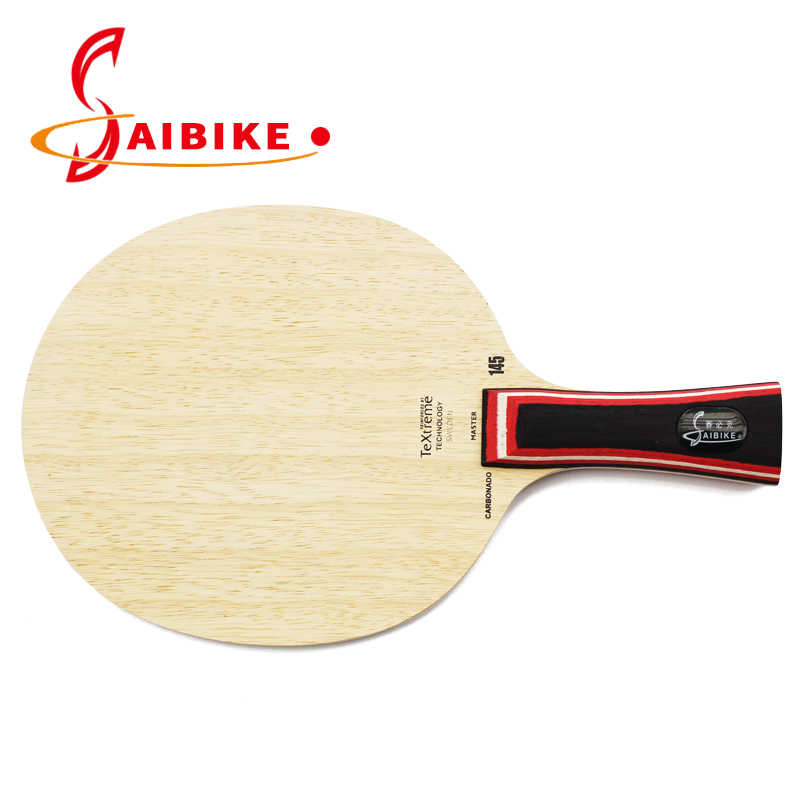 145 carbon wood table tennis racket bat ping pong racket table tennis blade Long handle FL