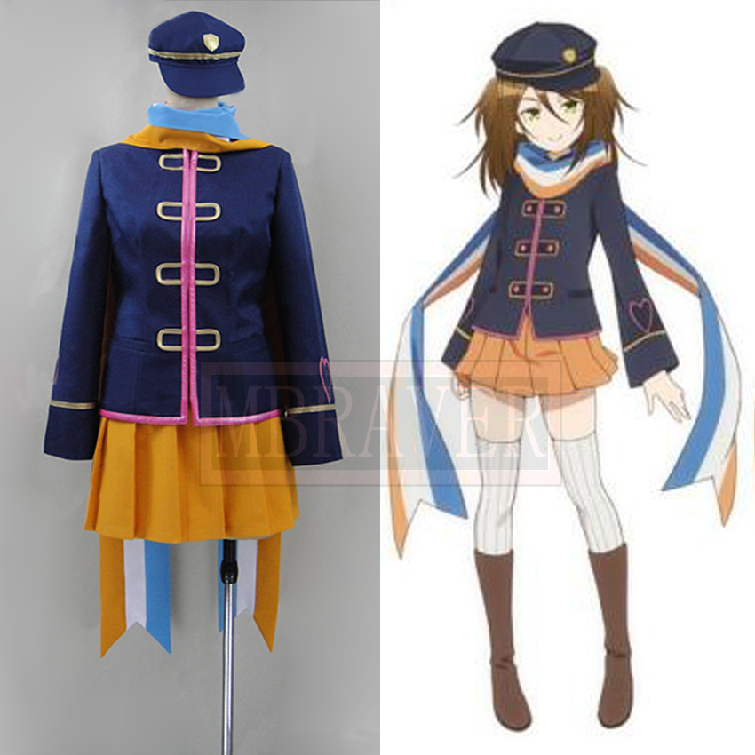 New Anime AntiMagic Academy 35th Test Platoon Nikaido Mari Cosplay Costume Uniform Hot Sale