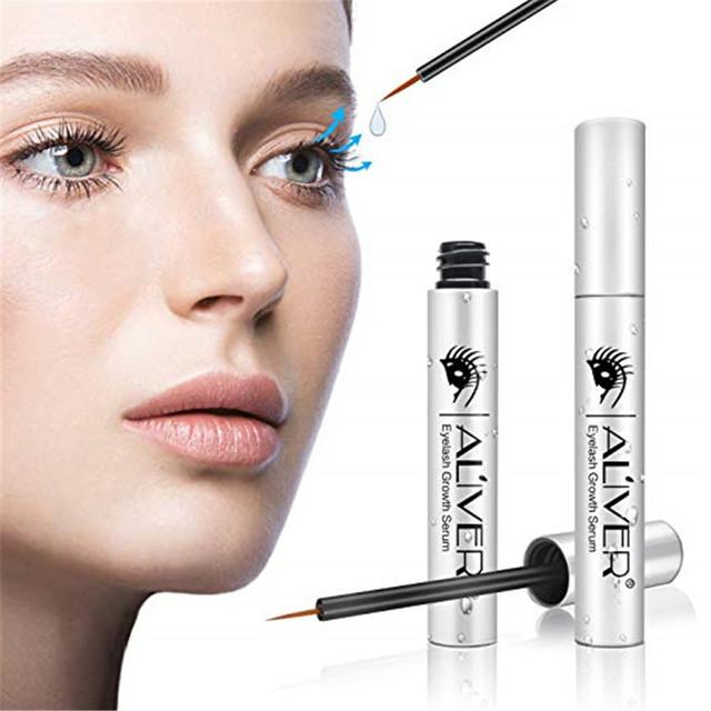 Eyelash Growth Serum, Revitalash Lash&Brow Rapid Growth and Boost by Aliver(Silver,5ml)