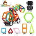 MylitDear Тележки Автомобиля Регулярные Enlighten Магнитный Конструктор Строительные Блоки Кирпичи Развивающие Игрушки для Детей