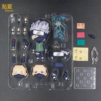 DIANXIA 2017 Novo Anime Naruto Kakashi Q Versão 17.5*8*21 cm Action Figure Toys Presente de Montagem Para Amigos dos miúdos Venda Quente