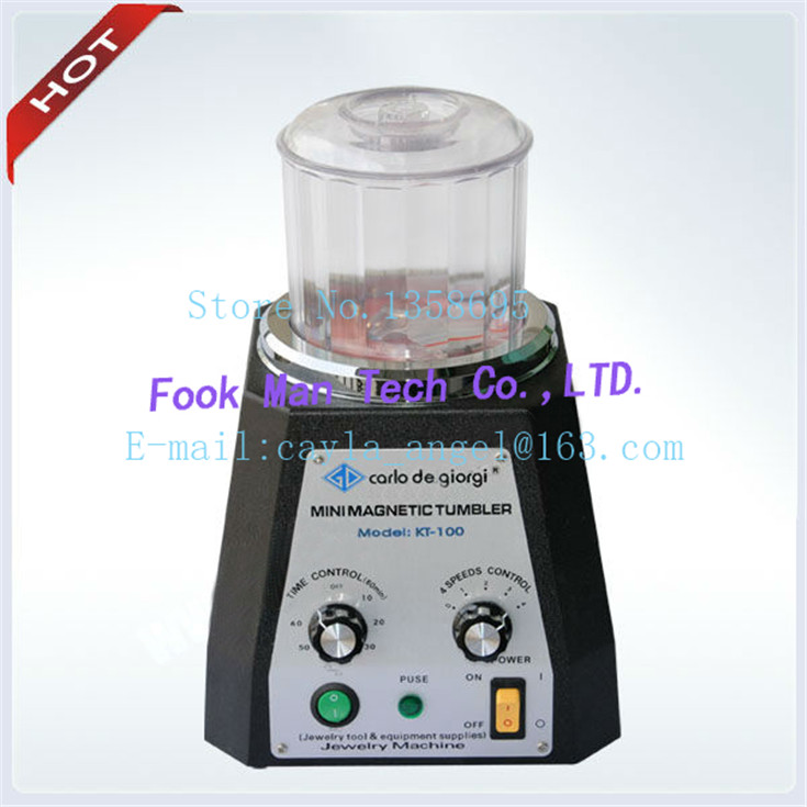 FREE SHIPPING Jewelry Making Supplies Polishing Machine Magnetic Tumblers jewelry tools and equipment