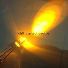 Light-Lamp To White 20pcs 5mm Emitting-Diodes Orange Amber Wide-Angle Ultra-Bright