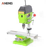 6330 Mini Workbench Electric Drill Stand Bench Drill Installation Mini Micro Multi Function Milling Machine Table