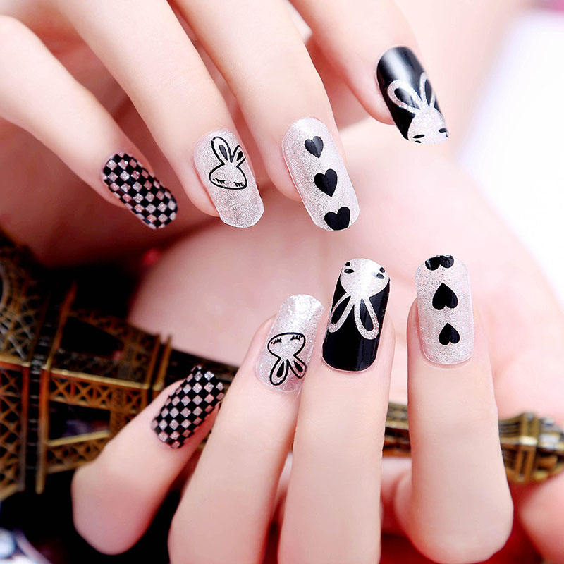 New nail polish design choice image nail art and nail design ideas manicure and pedicure tool picture more detailed picture about new arrival rabbit hot design animal nail prinsesfo Images
