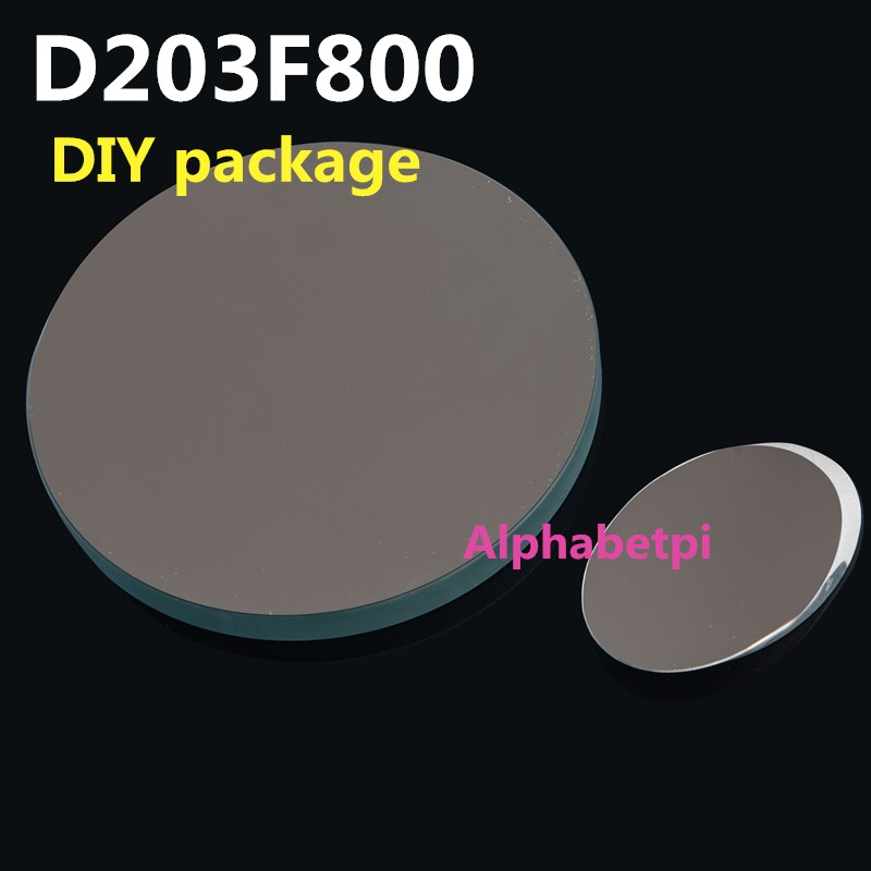 D203F800 Newton Reflex Astronomical Telescope DIY Package Main Mirror Secondary Mirror Focus Seat Eyepiece Fittings 203mm