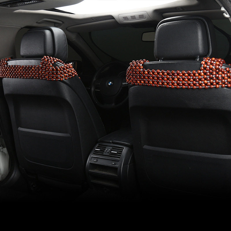 Rosewood Wooden Beads Sofa Cushion office Chair Cushion Summer Mat Solid Wood Scent and Environmental Protection in Automobiles Seat Covers from Automobiles Motorcycles