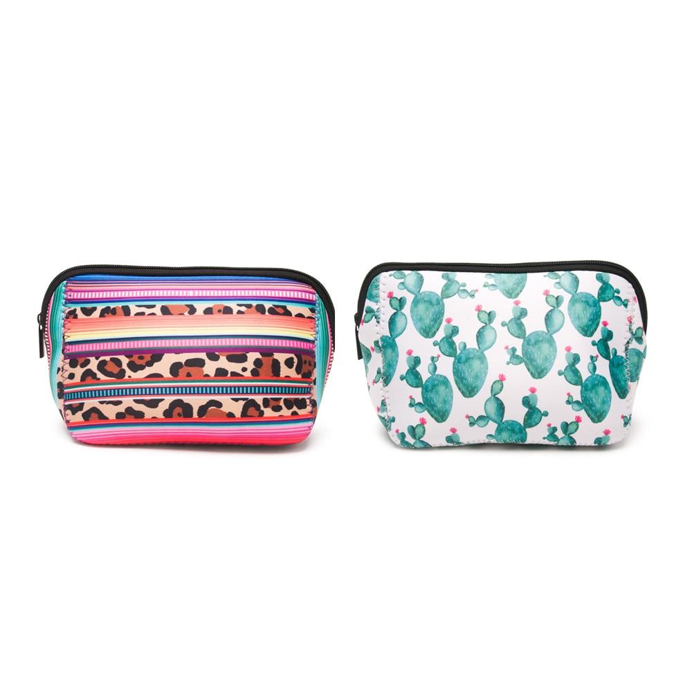529-triangle cosmetic bag