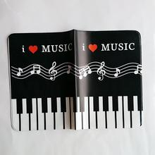 Piano Passport Case Holder