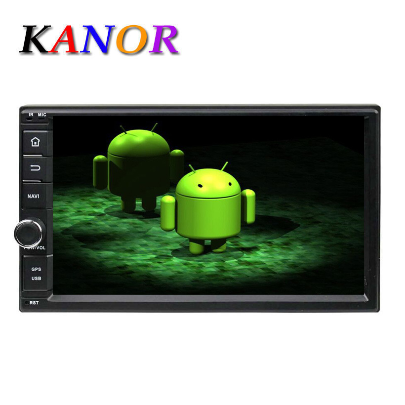 7 Android 4 0 System Car DVD Player ATV GPS Radio WIFI 1din Universal With Bluetooth