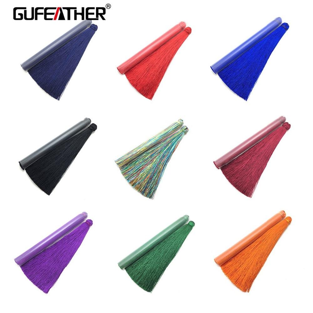 GUFEATHER L39/10cm/Silk Tassel/jewelry Accessories/jewelry Findings & Components/jewelry Findings/embellishments