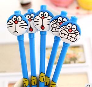 0.38mm Cute Doraemon Gel Pen Ink Pen Gift Stationery School Office Supply Escolar Papelaria