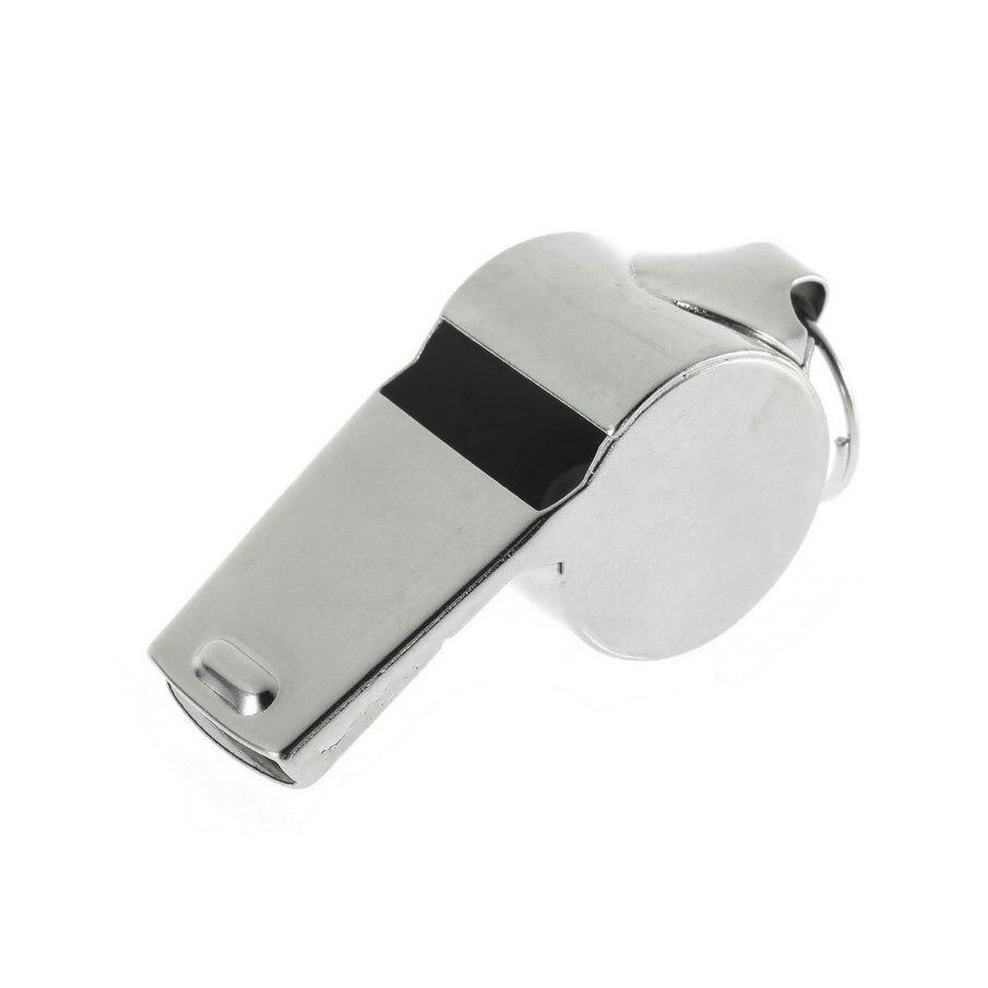 1 Pc Metall Whistle Schule Sport Rugby Fußball Fußball Schiedsrichter Pfeifen Party Pfeife Jungen Mädchen Spielzeug Pfeife Drop Verschiffen