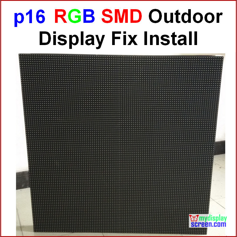 P16 RGB Outdoor Led Wall,  76.8cm X 76.8cm,30
