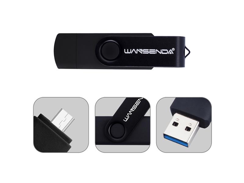 Pendrive OTG con puertos USB 3.0 y micro-USB 5