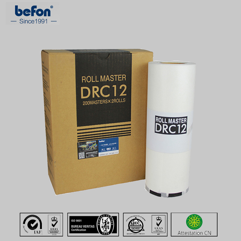 befon Master Roll DRC12 12 for DUPLO DP120  DP C 120 120 B4 2 rolls/box