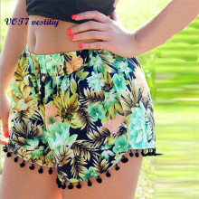 VOT7 vestitiy 2017 Sexy Hot Summer Casual Shorts High Waist Loose Short Beach Free shipping Sep 6