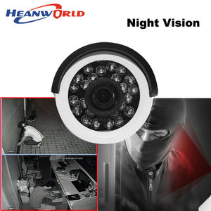 Image 3 - Heanworld 1080P AHD camera 2.0MP HD Outdoor bracket analog Camera night vision security CCTV Surveillance camera ABS plastic