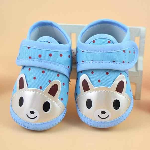 ทารกแรกเกิดเด็กทารกเด็กสาวรองเท้าการ์ตูนสัตว์นุ่มลื่นเด็กทารกรองเท้าเด็ก