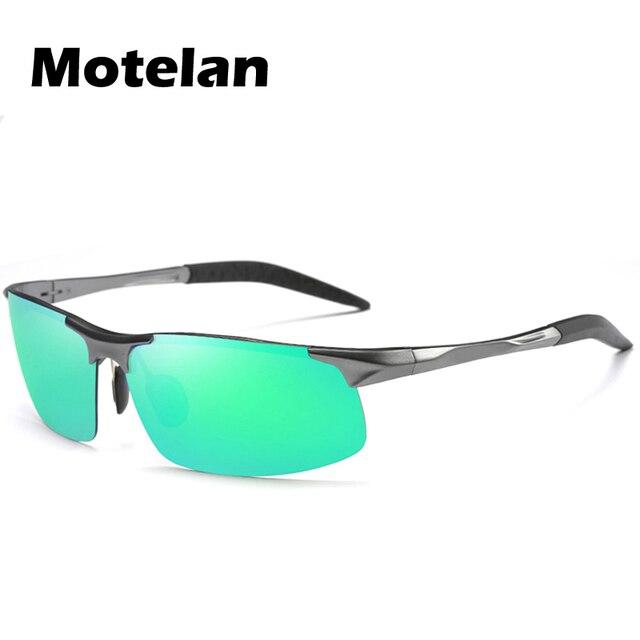 Мужская мода Поляризованные Алюминиевые Солнцезащитные Очки Вождение Спорт На Открытом Воздухе Поляризованные Очки Goggle мужская Поляризованные Солнцезащитные Очки 14 Цветов