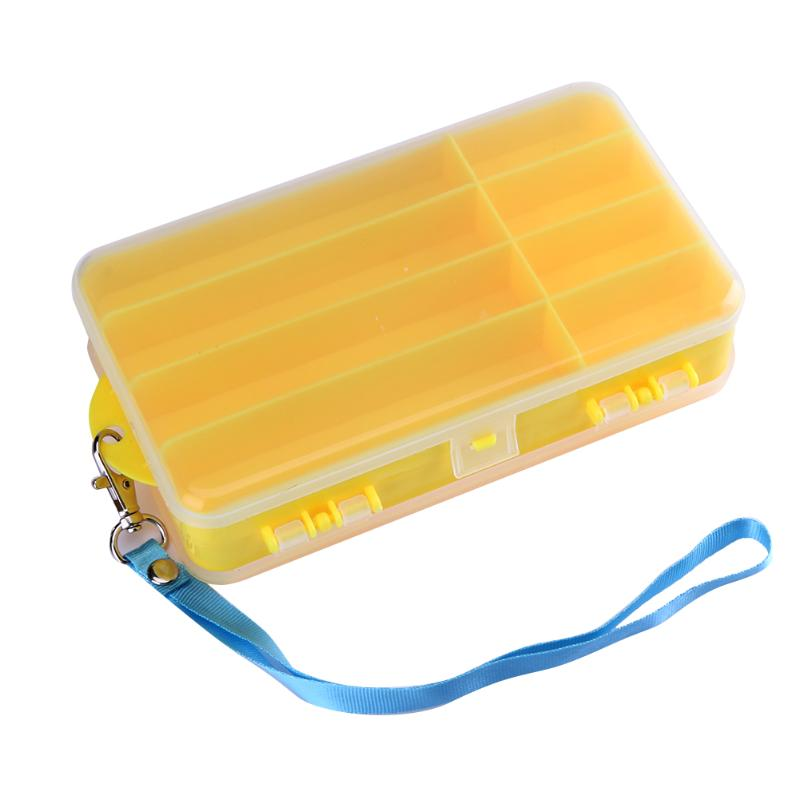 Double Layer Carp Fishing Box Accessories Lures Bait Case Winter Waterproof Shrimp Box Boxes for Fishing Tackle Fish Baits Tools wifreo 30pcs bag soft fake floating tiger nut bait pop ups scorpion carp rig pop up rig big carp fishing tackle s m