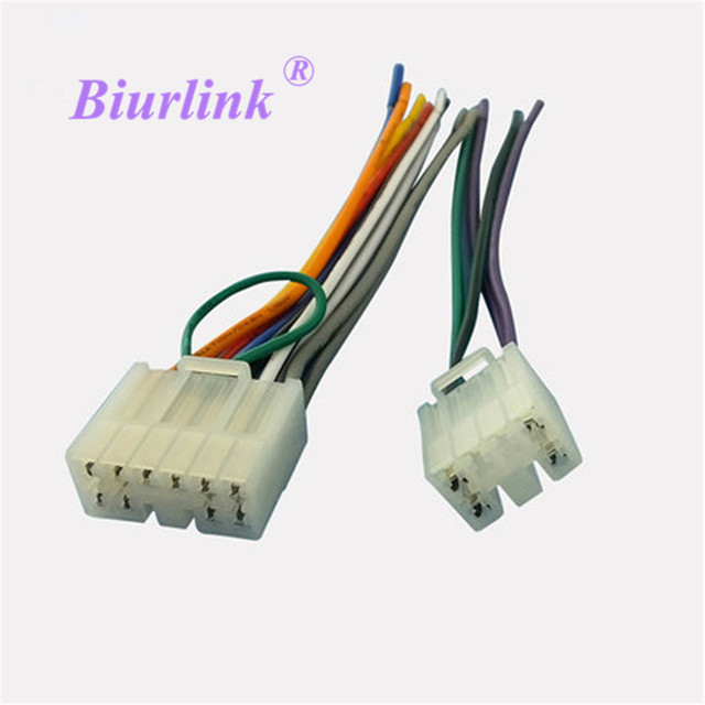 Car Stereo CD Changer Wiring Harness Adapter Female Plug For Toyota